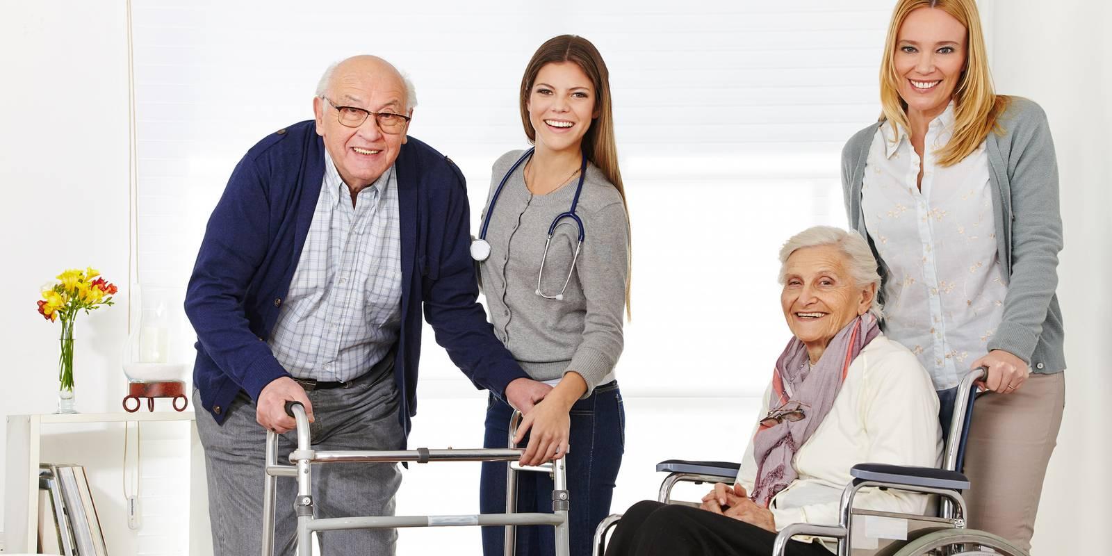 personnes âgées - La perte d'autonomie