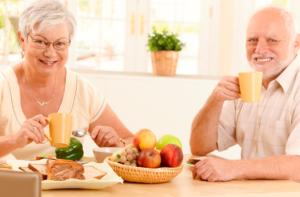 santé des seniors, manger équilibré - image - image